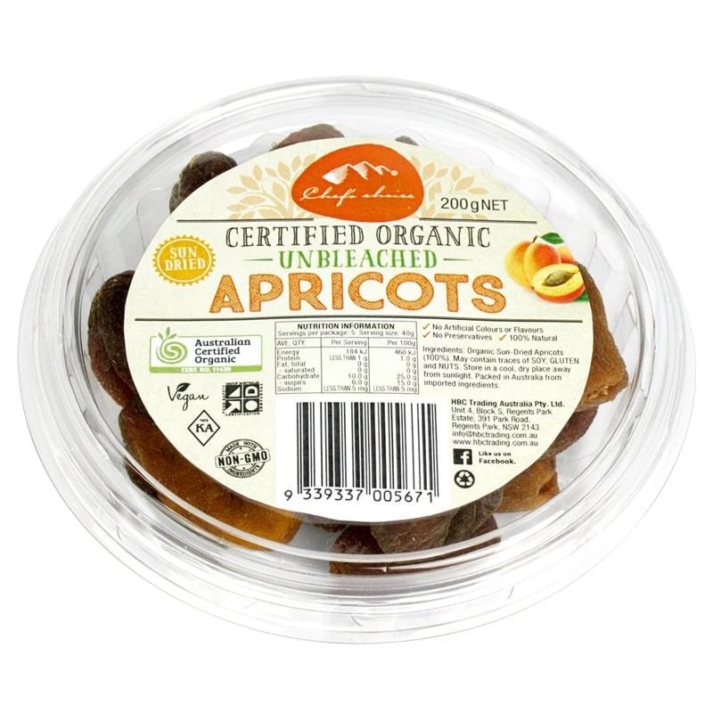 Mơ Apricots khô phơi nắng nguyên chất organic
